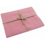 Mini Gingham  Coral tablecloth